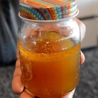 Cách làm siro chanh mật ong trị ho