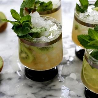 Cocktail kiwi bạc hà