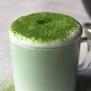 Cách pha Latte Matcha sữa tươi nguyên kem béo thơm đơn giản