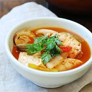 Canh cá kiểu Hàn