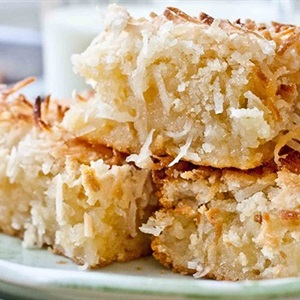 Bánh butter mochi dừa