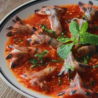 Cách Làm Tôm Sống Sốt Thái Chua Cay, Ngon Tê Tái