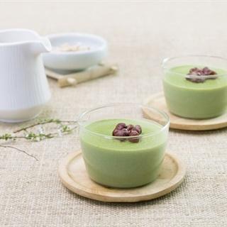 Panna Cotta trà xanh