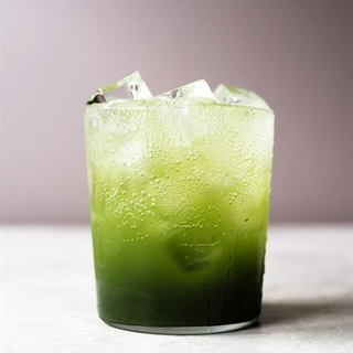 Cách làm Soda trà xanh