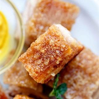 Cách làm Thịt Quay giòn bì bằng lò nướng cực đơn giản