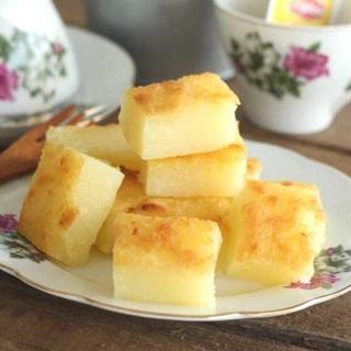 Cách làm bánh khoai mì nước cốt dừa nướng