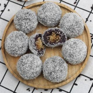 Cách làm bánh nếp cẩm nhân dừa