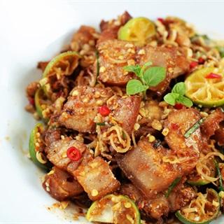 Cách Làm Thịt Ba Chỉ Lắc Sả Tắc | Đơn Giản Hấp Dẫn