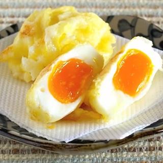 Cách làm Tempura trứng gà