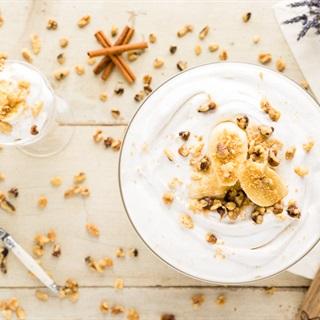 Cách làm Pudding chuối vani