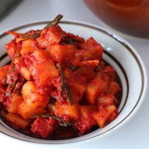 Kim chi củ cải