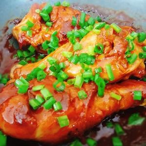 Đùi gà sốt tương ớt Hàn Quốc