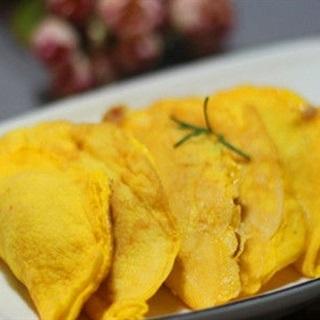 Trứng chiên cuộn tôm thịt hấp dẫn