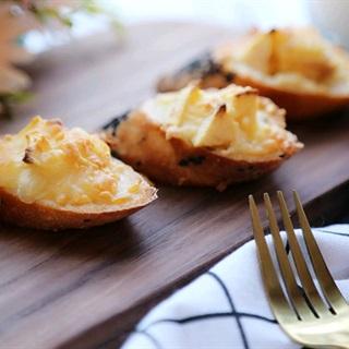 Cách làm bánh mì bơ phô mai