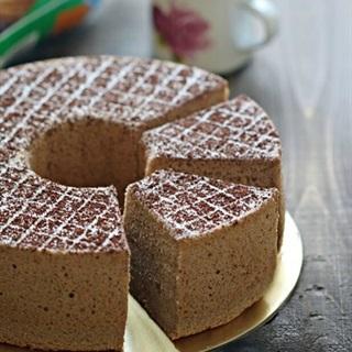 Bánh chiffon chocolate