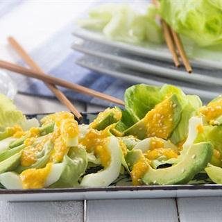 Salad bơ dưa leo