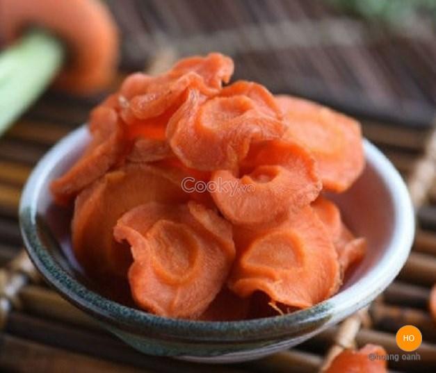 Cách làm Cà rốt sấy | Cooky.vn