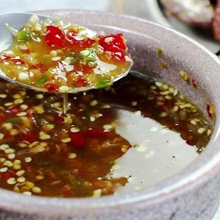 Cách làm mắm tỏi ớt chấm đồ nướng