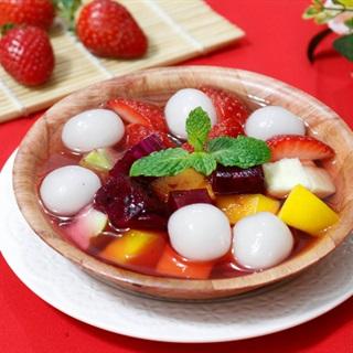 Cách làm chè hoa quả trân châu