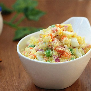 Salad khoai tây rau củ