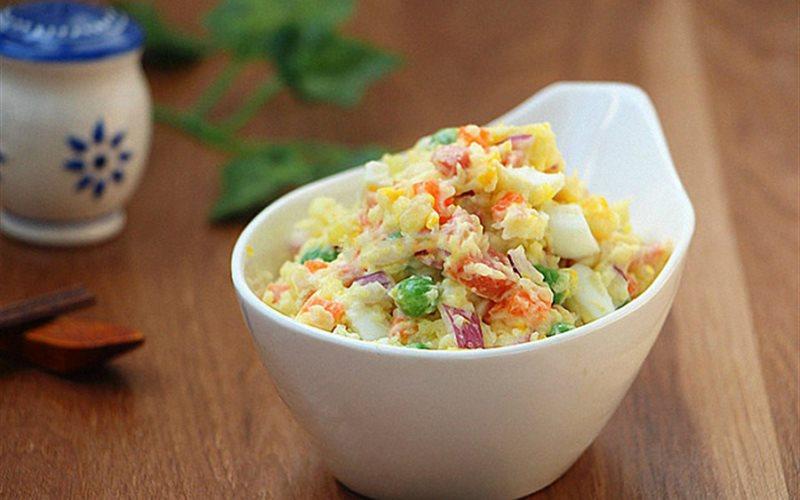 Cách làm Salad khoai tây rau củ