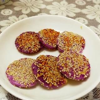 Bánh nếp khoai lang tím nhân phô mai