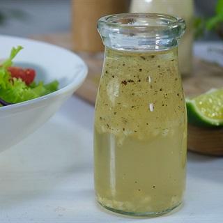 Cách làm Sốt giấm táo dầu olive