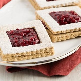 Bánh quy linzer đặc trưng của nước Áo