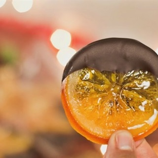 Cách làm Kẹo cam lát nhúng chocolate