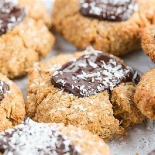 Bánh quy chocolate từ bột dừa
