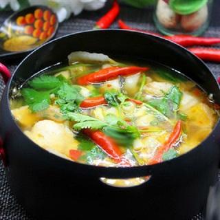 Canh cá chép nấu cải thảo thơm ngon