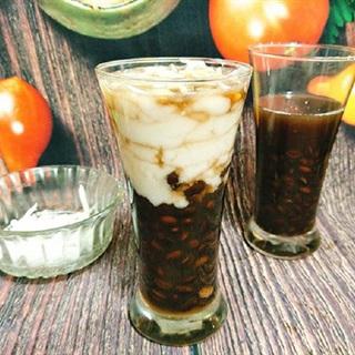 Chè đậu đen cốt dừa mát ngọt