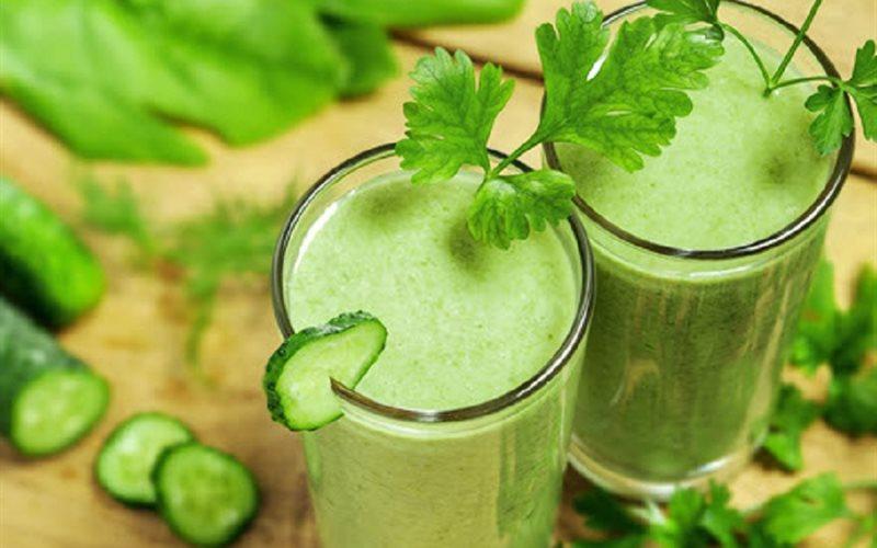 Cách làm nước ép dưa leo cần tây giúp bạn giảm cân