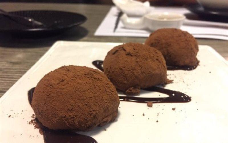 Cách làm Bánh mochi nhân kem chocolate