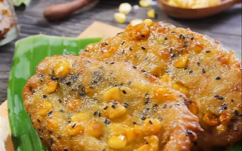 Cách Làm Bánh Chuối Bí Ngô Giòn Ngon