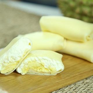 Cách làm bánh crepe sầu riêng thơm béo