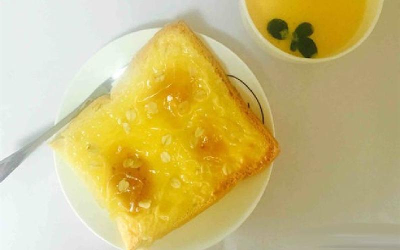 Cách làm Bánh mì nướng bơ phô mai yến mạch