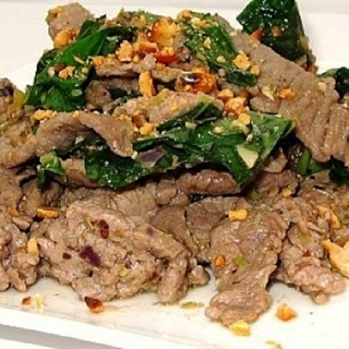 Cách làm thịt bò xào lá lốt bồ dưỡng