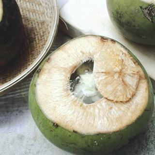 Cách làm rau câu trái dừa sầu riêng