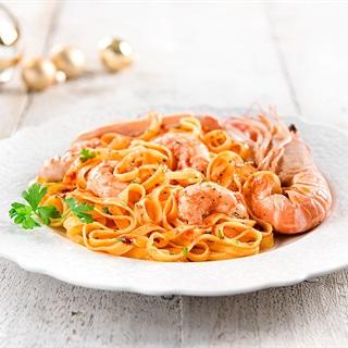 Mì ý sốt cà chua tôm