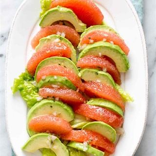 Salad bơ bưởi
