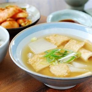 Canh củ cải chả cá Hàn Quốc