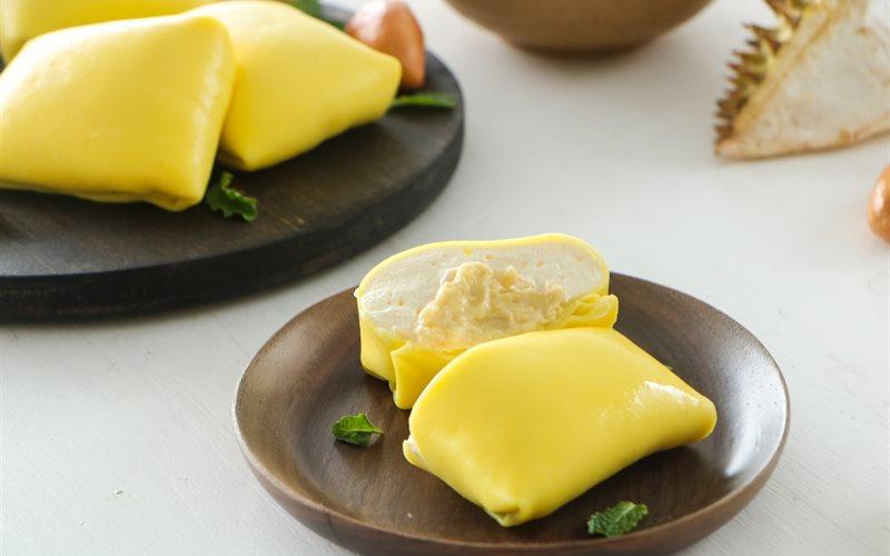Cách Làm Bánh Crepe Sầu Riêng Cực Ngon Khó Cưỡng