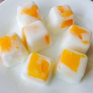 Cách làm sữa chua xoài đông lạnh