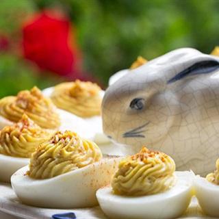 Cách làm Trứng trộn sốt Mayonnaise