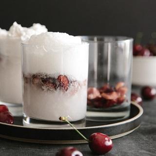 Cách làm Soda kem cherry