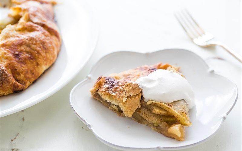 Cách làm Bánh táo - Apple Crostata