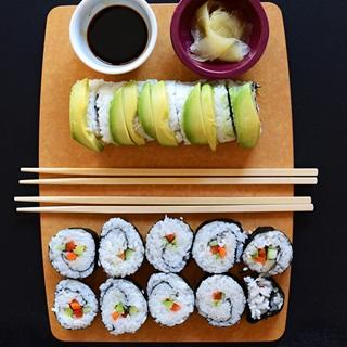 Sushi cuộn chay