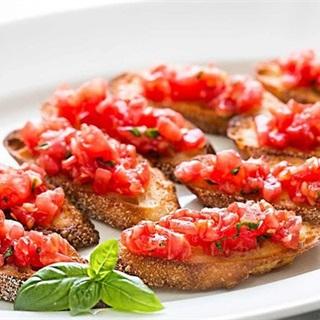 Bánh mì nướng sốt cà chua