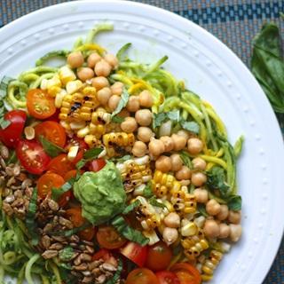 Salad rau củ sốt bơ cay
